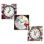 Canvas Wall Clocks